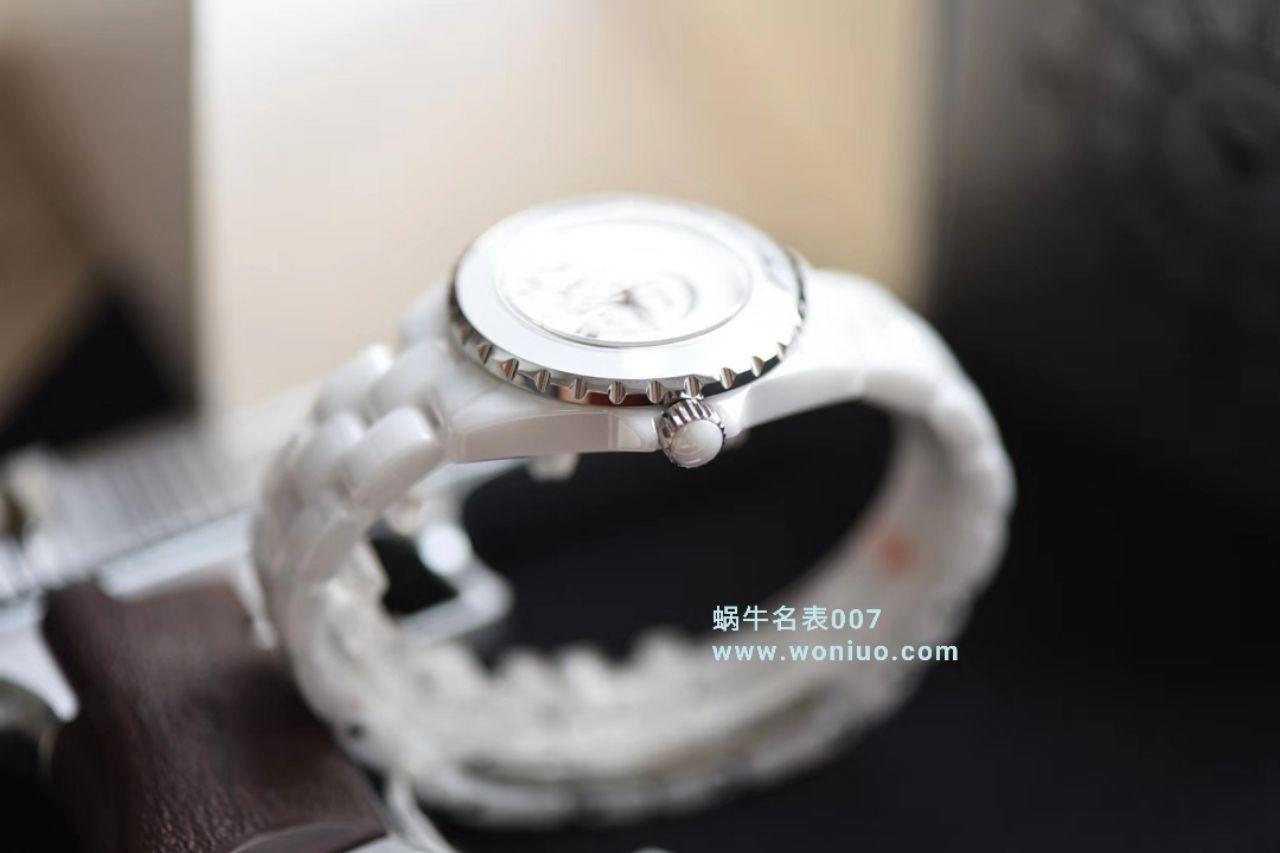 【独家视频评测】KOR韩版 香奈儿 J12香奈儿INTENSE 重置加强版女士石英腕表 / X032