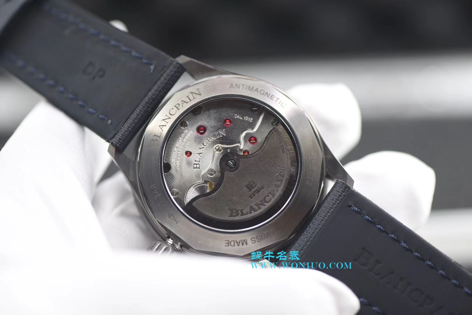 【ZF厂顶级复刻手表】宝珀五十噚系列5000-0240-O52A腕表 / BP051