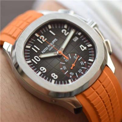 【YL厂顶级复刻手表】百达翡丽手雷AQUANAUT系列5968A-001腕表