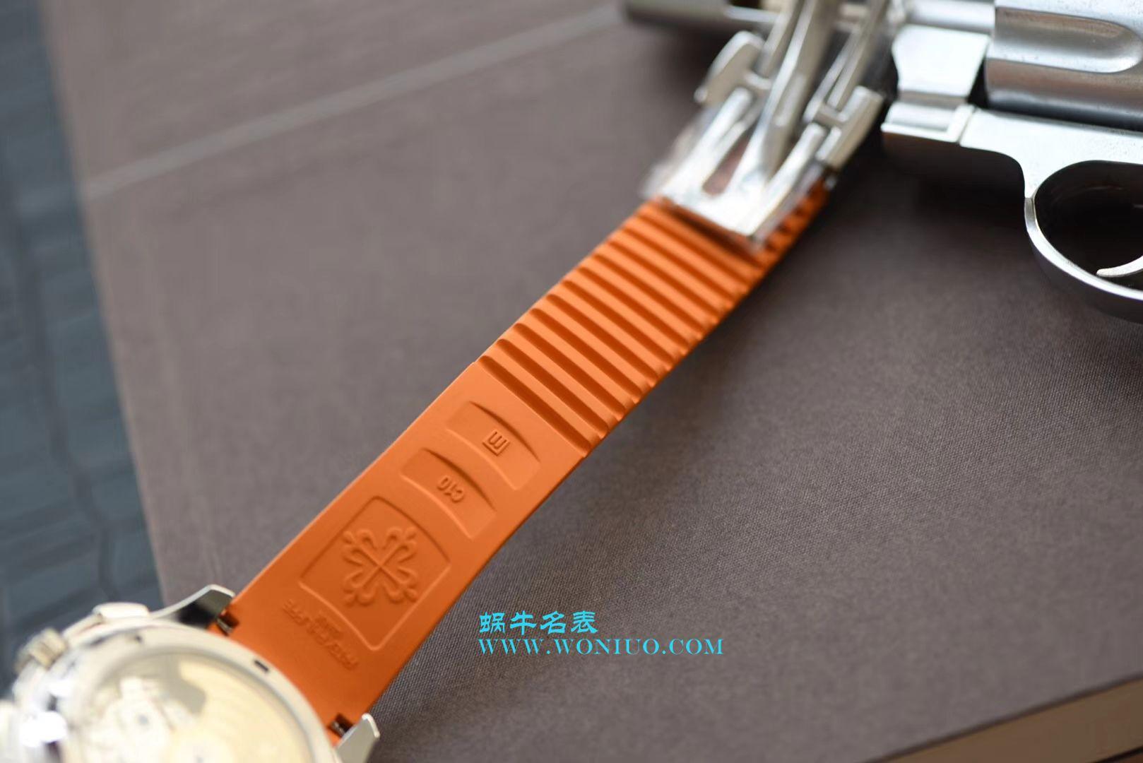 【YL厂顶级复刻手表】百达翡丽手雷AQUANAUT系列5968A-001腕表 / BD227