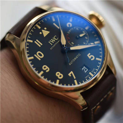 ZF新品--万国IWC空中霸主(大飞行员)系列——IW501005青铜腕表价格报价