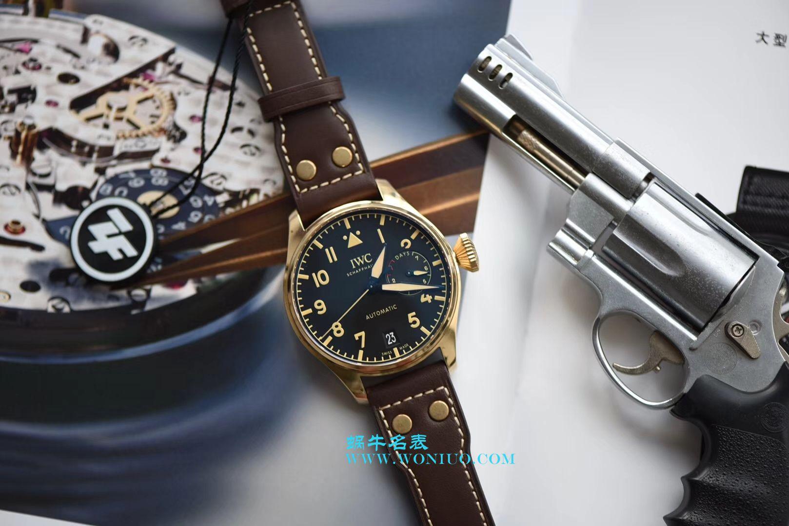 ZF新品--万国IWC空中霸主(大飞行员)系列——IW501005青铜腕表 / WG169