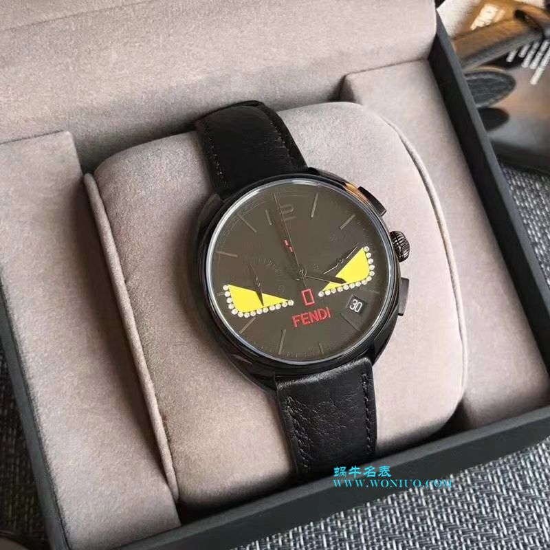 FENDI芬迪小怪兽石英计时男女中性手表(张艺兴同款)