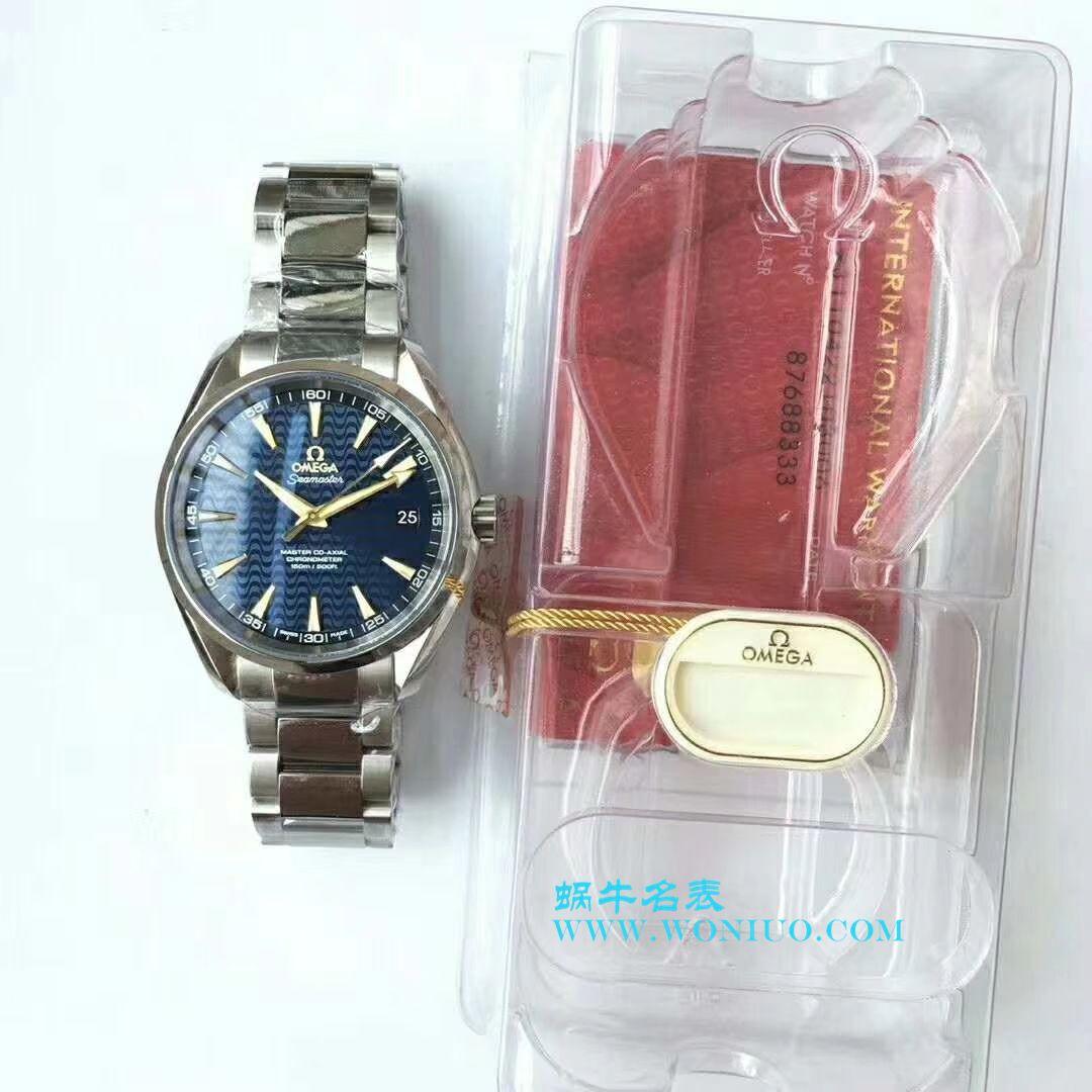 【VS一比一超A复刻手表】欧米茄海马系列里约奥运特别版231.10.42.21.03.006腕表