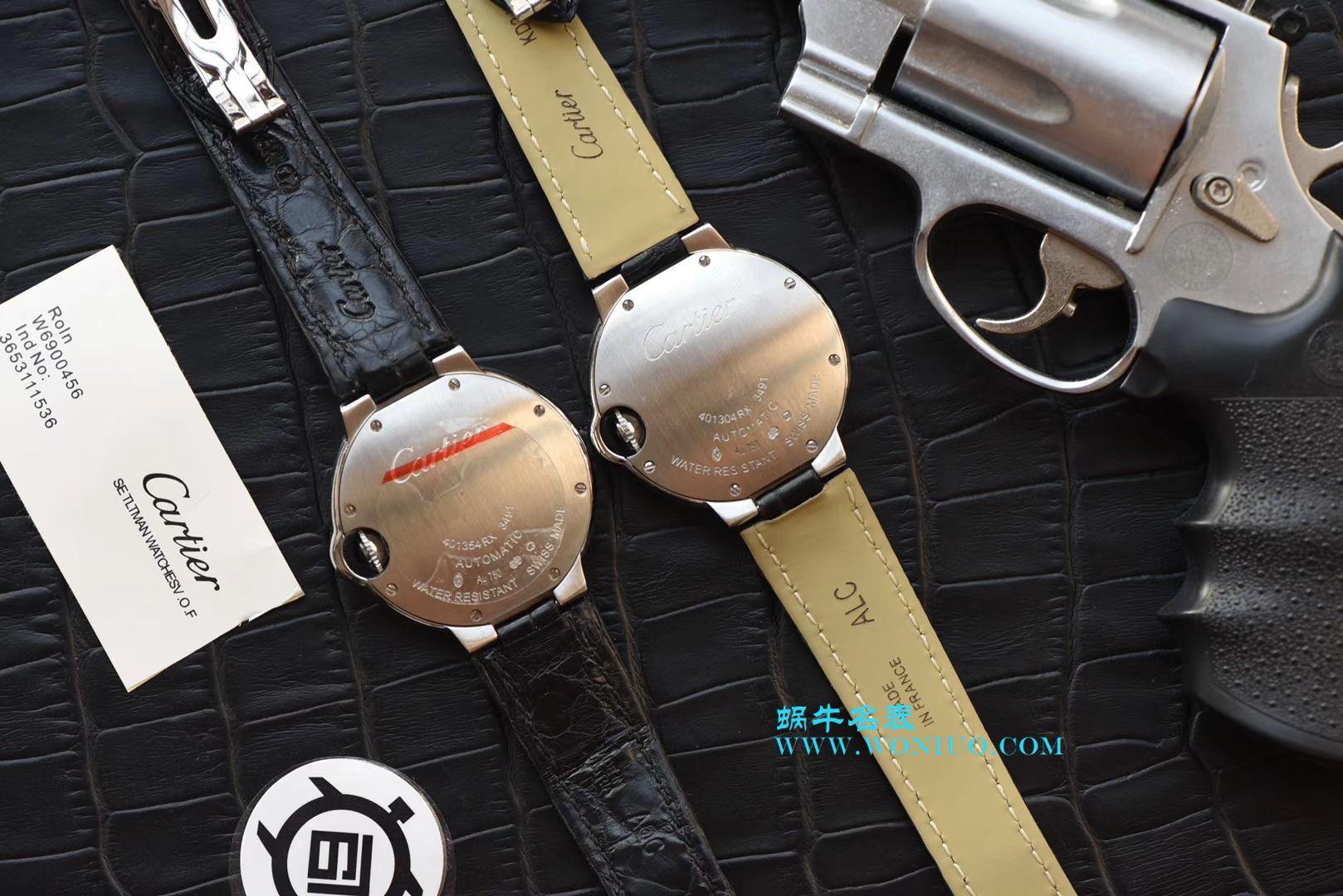 V9出品卡地亚枚金款蓝气球,又一顶级之选、33毫米、36mm白金玫瑰金女士腕表 / K161