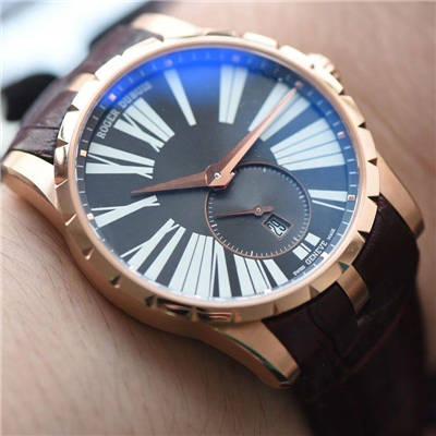【RD一比一超A复刻手表】罗杰杜彼EXCALIBUR(王者系列)系列DBEX0537腕表价格报价