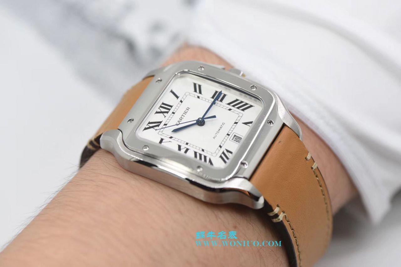 【KOR一比一超A高仿手表】卡地亚桑托斯山度士系列WSSA0009腕表 / K162
