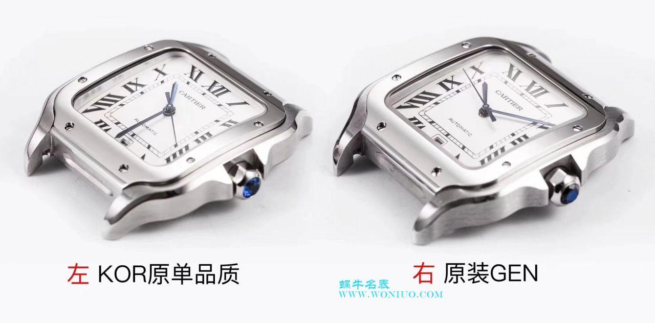 【KOR一比一超A高仿手表】卡地亚桑托斯山度士系列WSSA0009腕表