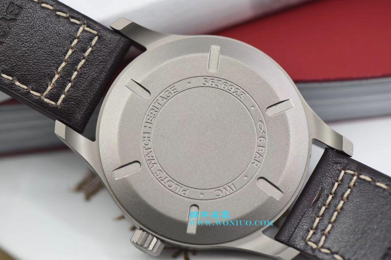 【GS一比一顶级复刻手表】万国表飞行员系列马克18钛金属IW327006腕表 / WG170