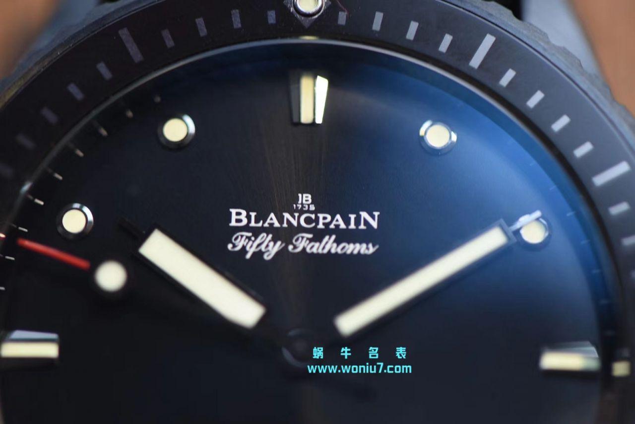 【GF厂顶级复刻手表】宝珀五十噚系列5000-1230-B52A腕表 / BP052