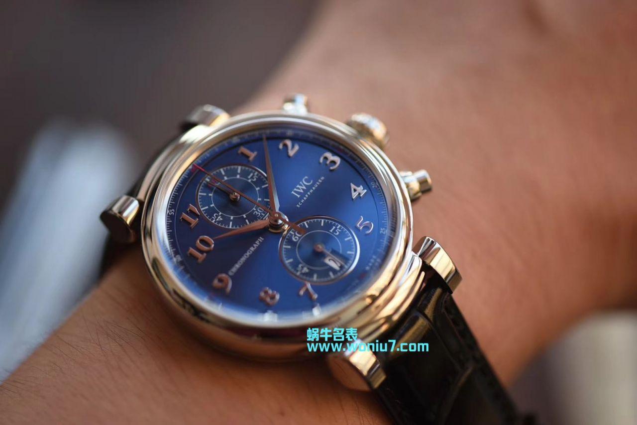【YL一比一超A复刻高仿手表】万国表达文西系列IW393402腕表 / W319