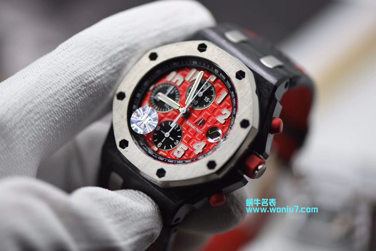 【JFAP红魔一比一超A精仿】爱彼千禧系列26190OS.OO.D003CU.01男士机械手表