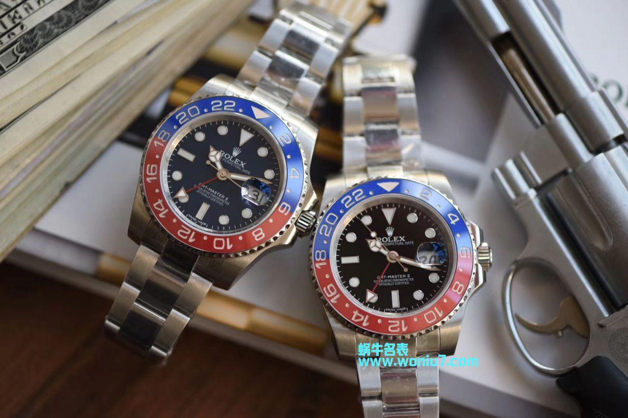 【DJ顶级复刻手表】劳力士格林尼治型II系列116719-BLRO腕表 / R237