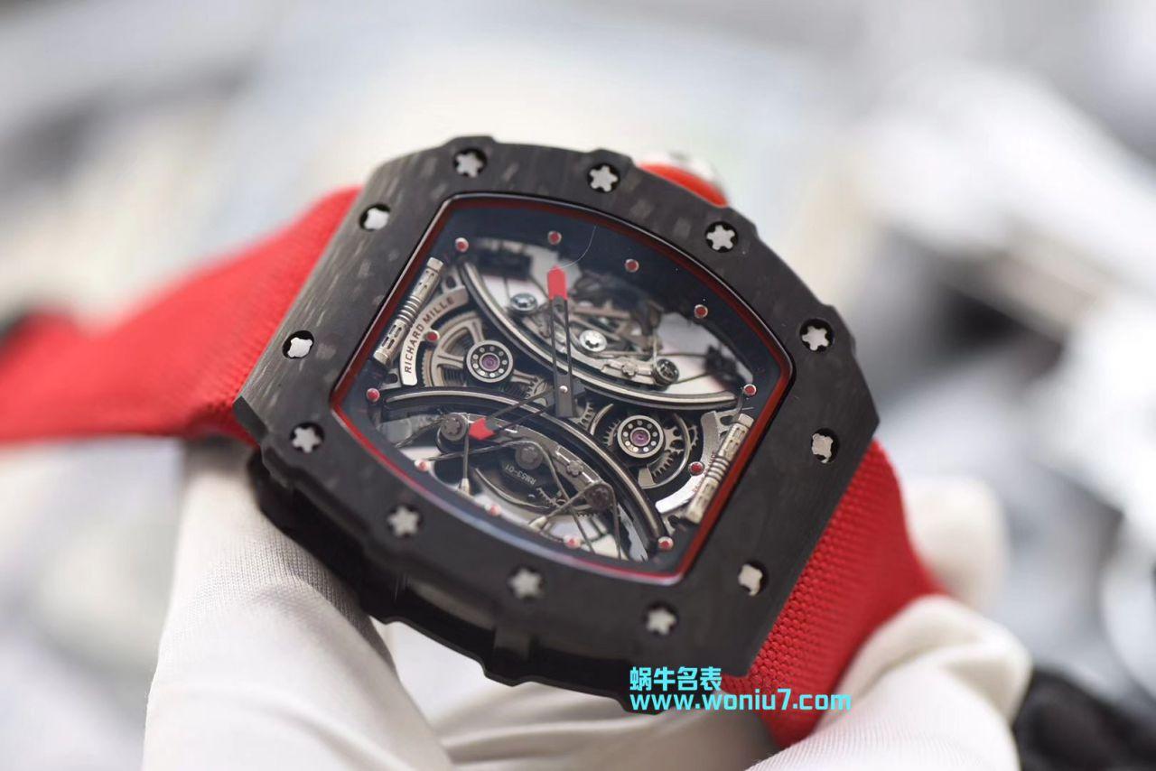 里查德米尔男士系列RM 53-01 PABLO MAC DONOUGH腕表