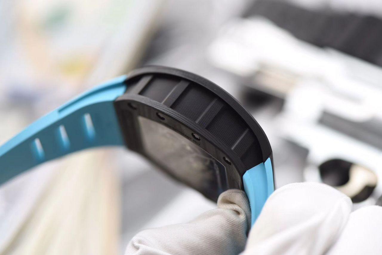 【KV一比一超A精仿手表】理查德.米勒RICHARD MILLE男士系列RM 055碳纤维腕表