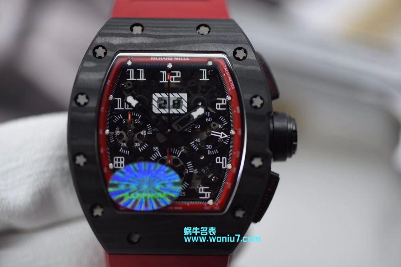 【KV一比一顶级复刻手表】理查德.米勒男士系列RM 011腕表
