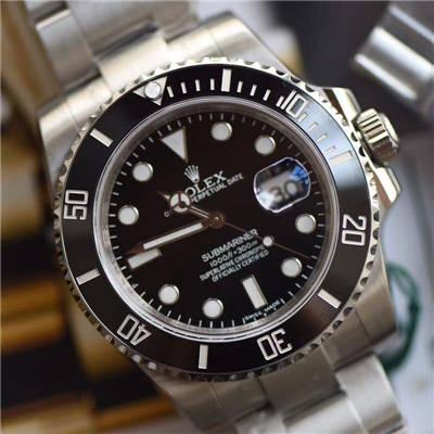 【视频解析DJ顶级顶级复刻手表】劳力士潜航者型系列116610LN-97200 黑盘腕表(黑水鬼)