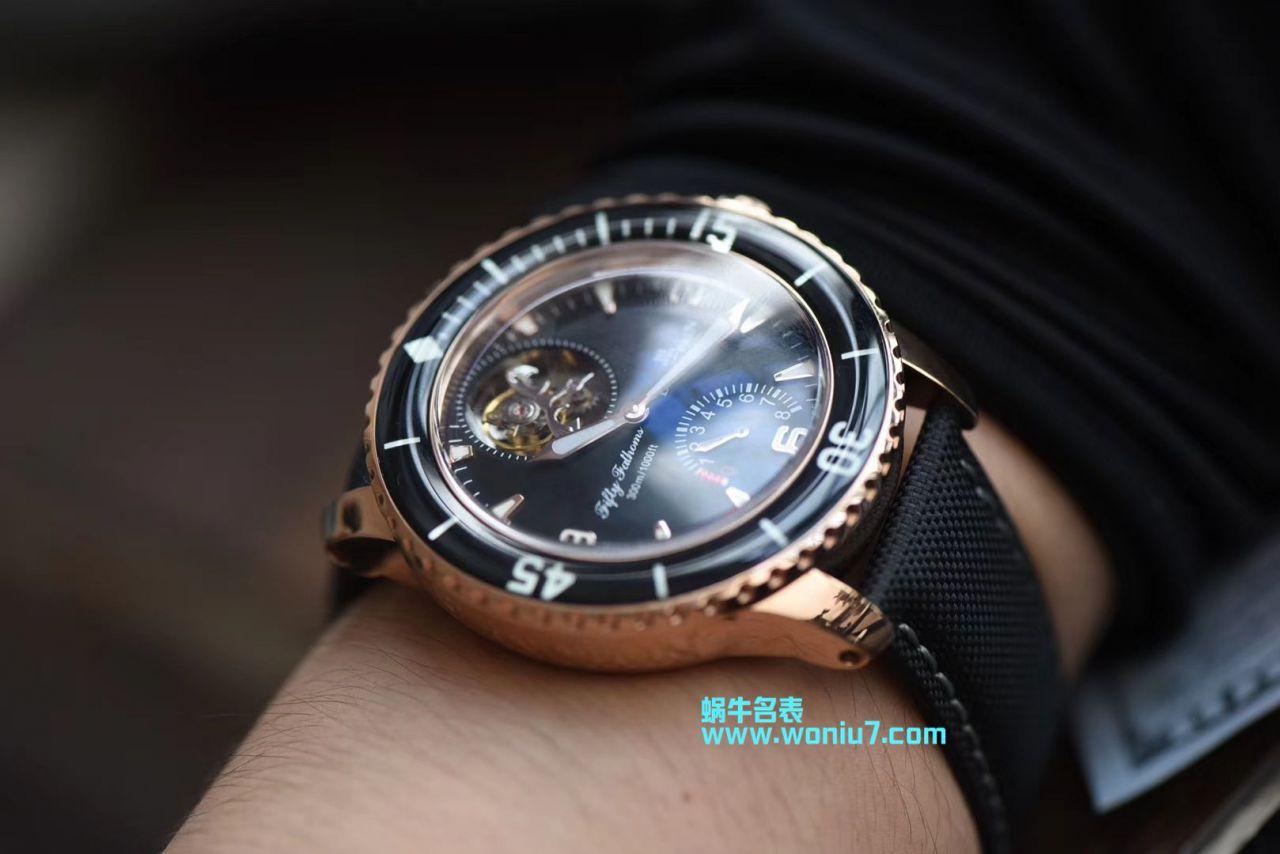 【JB一比一超A复刻手表】宝珀五十噚系列5025-3630-52A腕表