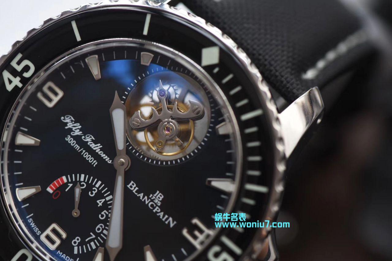 【JB厂顶级复刻手表】宝珀五十噚系列5025-1530-52 陀飞轮系列腕表 / BP027
