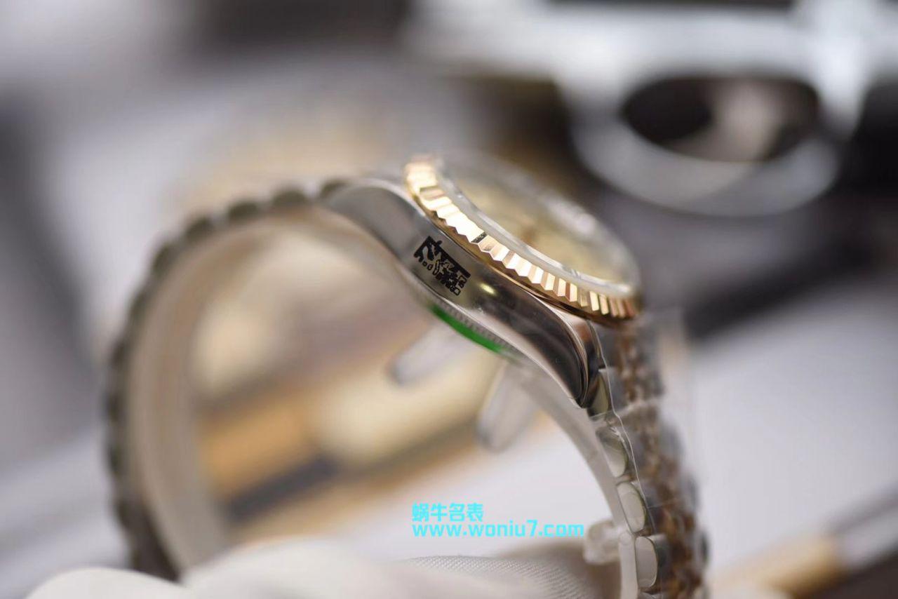 【包金款】劳力士女装日志型系列179173(条钉)279173(钻钉)香槟色腕表