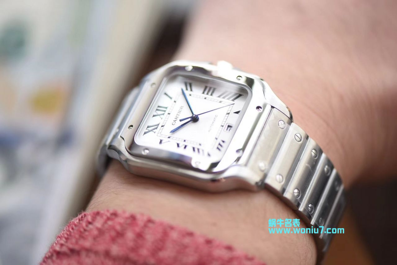 卡地亚桑托斯山度士系列WSSA0009腕表