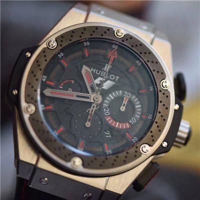 【V6厂一比一超A顶级复刻手表】宇舶Hublot F1 King Power 计时码表 限量版腕表价格报价