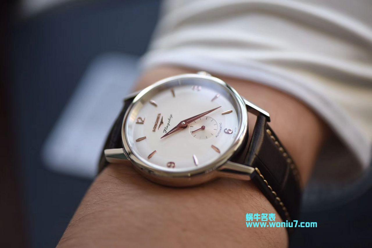 【WF顶级复刻手表】浪琴表军旗系列60周年限量款L4.817.6.76.2腕表 / L103