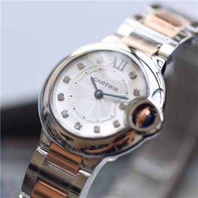 【V6一比一超A高仿手表】卡地亚蓝气球系列WE902030女士28MM石英腕表