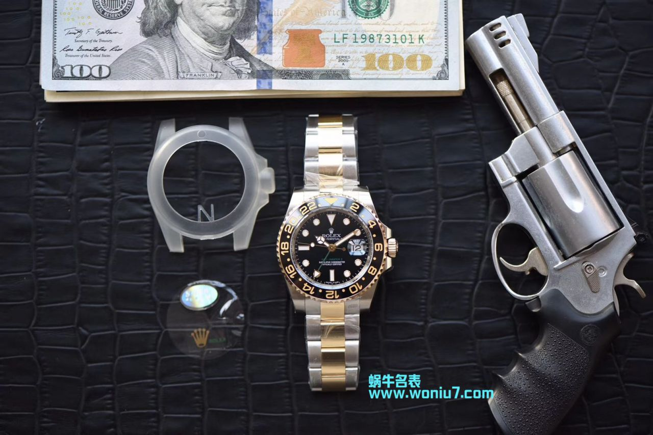 【N厂一比一超A精仿手表】劳力士格林尼治型II系列116713-LN-78203包真金腕表 / R251