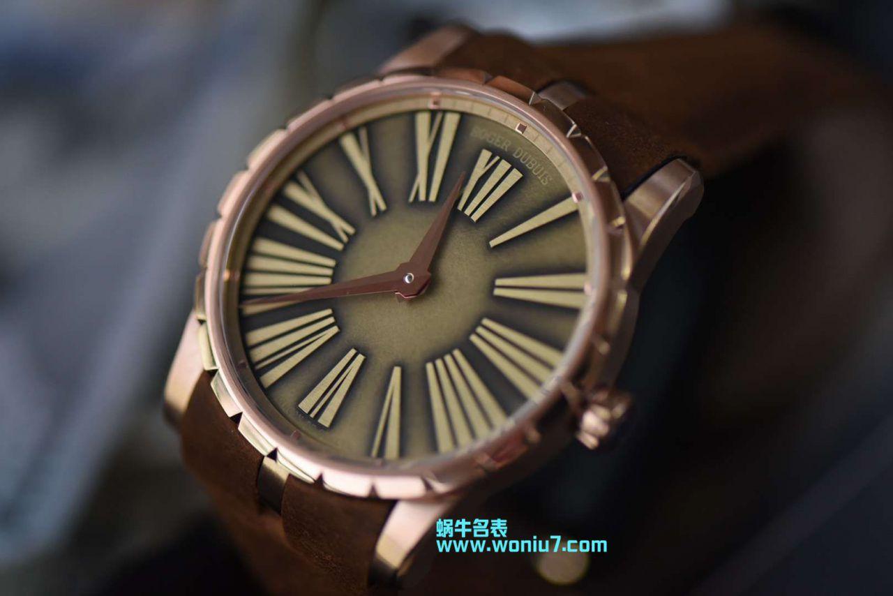 【RD一比一超A顶级复刻手表】罗杰杜彼EXCALIBUR(王者系列)系列RDDBEX0498腕表