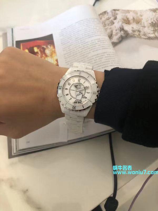 【KOR一比一超A高仿手表】香奈儿J12系列 Coco小姐MADEMOISELLE J12女士腕表 / X038