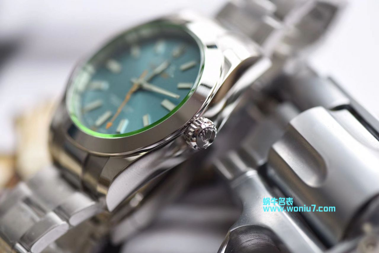 【DJ一比一超A高仿手表】劳力士MILGAUSS系列116400-GV-72400蓝盘腕表(绿玻璃) / R246