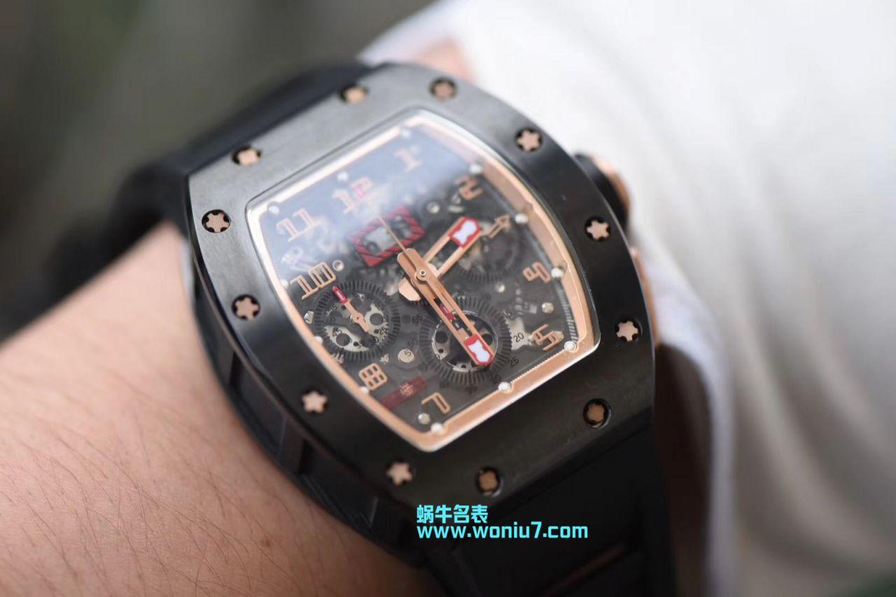 【KV厂一比一顶级复刻手表】理查德.米勒Richard Miller男士系列RM011菲利普_马萨特别版 / KVRM011DFC