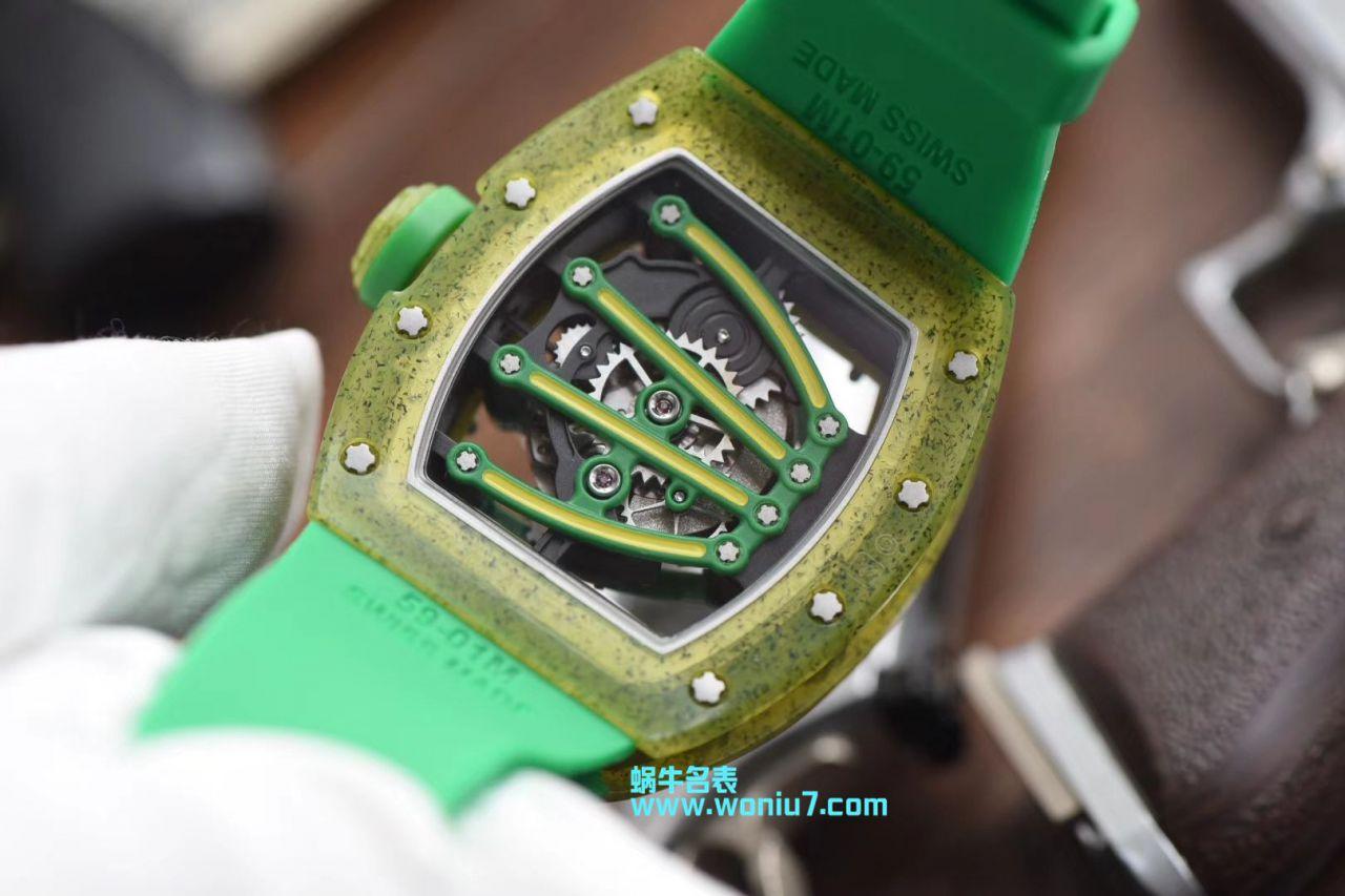 【RM一比一超A高仿手表】理查德.米勒RICHARD MILLE男士系列RM 59-01 YOHAN BLAKE腕表 / RM 59-01