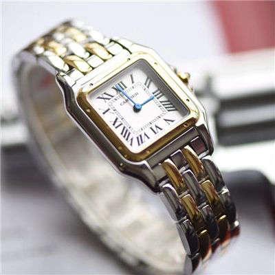 【KOR顶级复刻手表】卡地亚猎豹PANTHÈRE DE CARTIER系列W2PN0007女士腕表