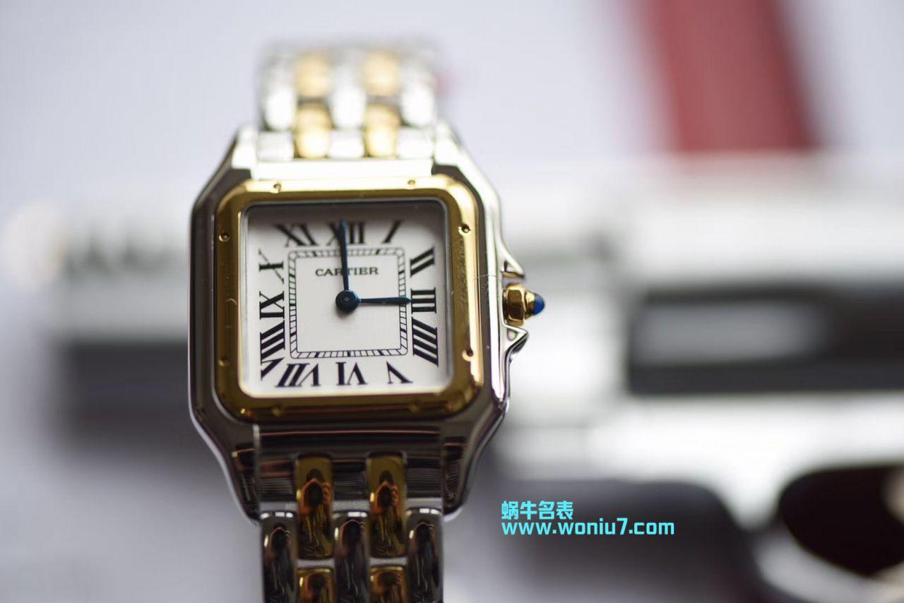 【KOR一比一超A高仿手表】卡地亚猎豹PANTHÈRE DE CARTIER系列W2PN0007女士腕表