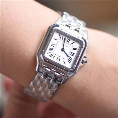 【8848F厂顶级复刻手表】卡地亚猎豹PANTHÈRE DE CARTIER系列WSPN0007腕表女装