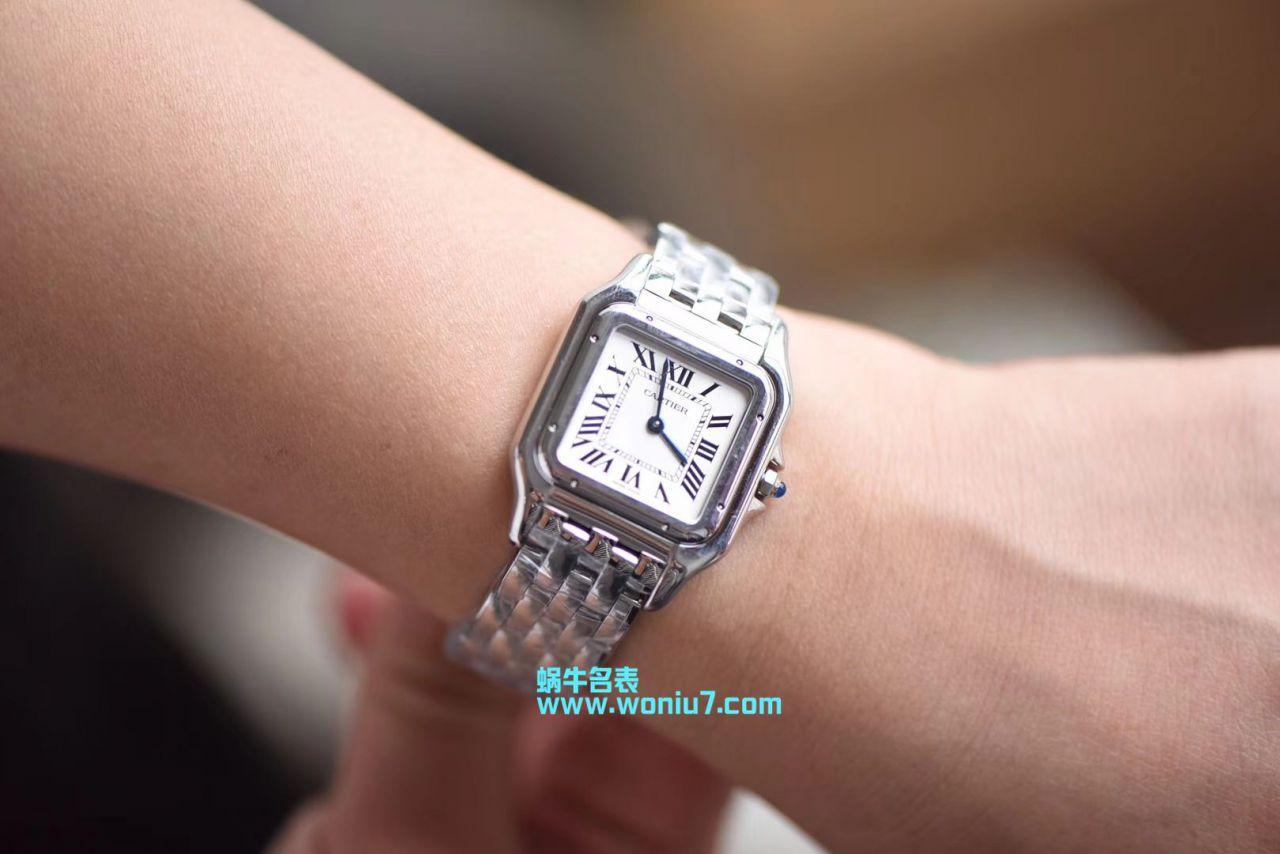 【8848F一比一超A精仿手表】卡地亚猎豹PANTHÈRE DE CARTIER系列WSPN0007腕表女装