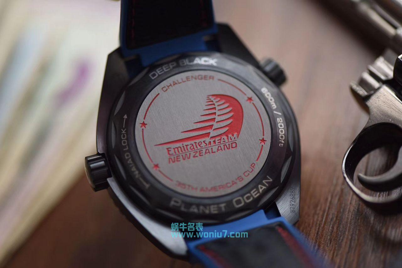 【VS厂顶级复刻手表】欧米茄海马系列海之黑新西兰酋长队限定版215.92.46.22.01.004腕表 / M372