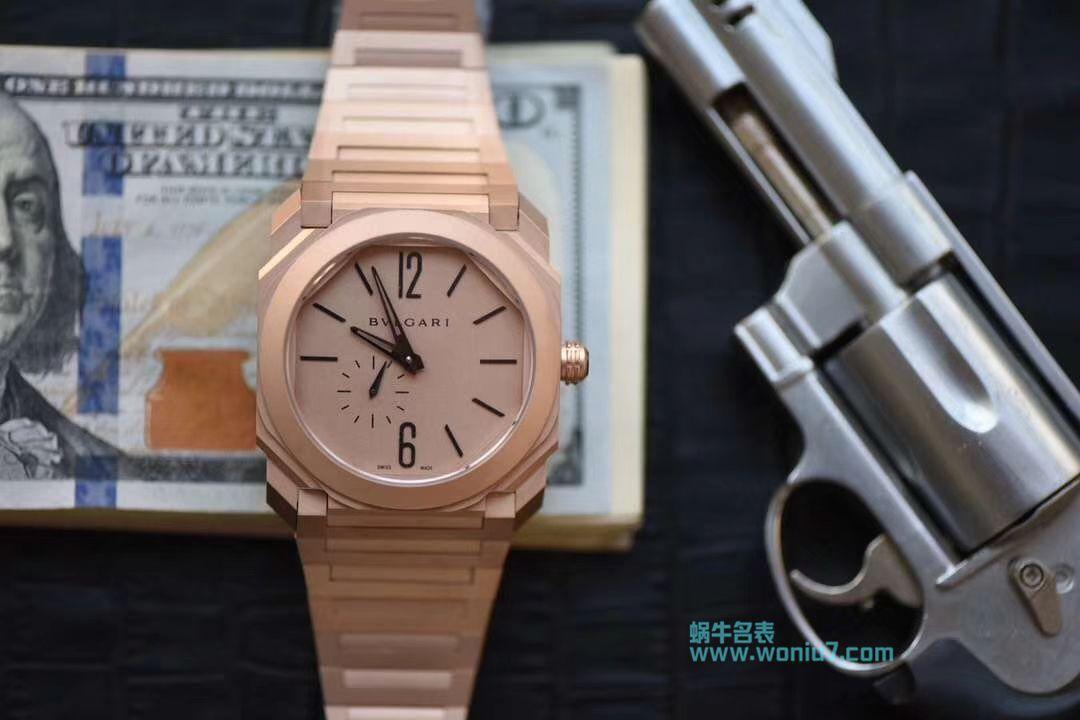 【台湾厂一比一超A高仿手表】宝格丽OCTO系列102912腕表