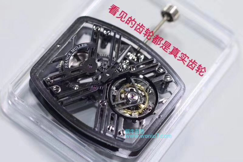 【JB厂顶级复刻手表】法穆兰NEW SARATOGE系列V 45 T SQT CARBONE腕表 / FL030