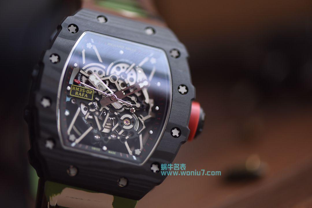 【KV一比一超A高仿手表】理查德.米勒Richard Miller男士系列RM035-01迷彩腕表