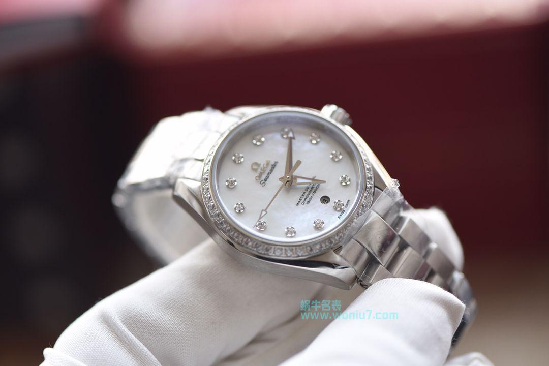 【台湾厂一比一超A高仿手表】欧米茄海马系列231.15.34.20.57.001女士机械腕表集合 / M309