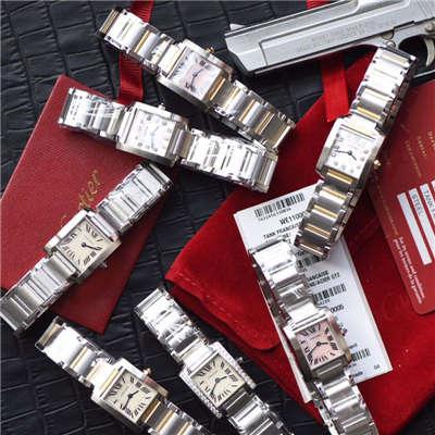 【8848F厂顶级复刻手表】卡地亚坦克系列W51008Q3、WE1002S3、W51007Q4、WE110006、WE110004女士腕表