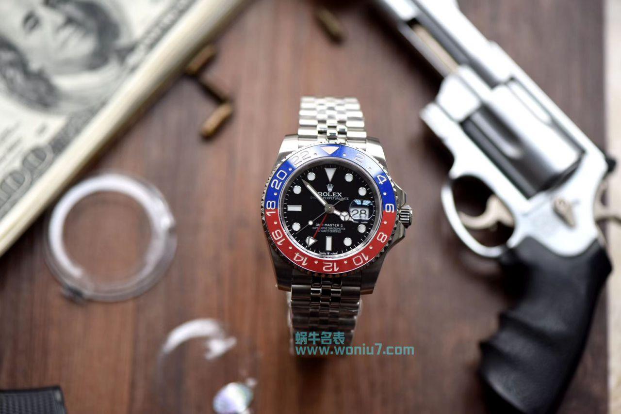 【DJ一比一超A高仿手表】劳力士格林尼治型II系列126710BLRO-0001腕表 / R261