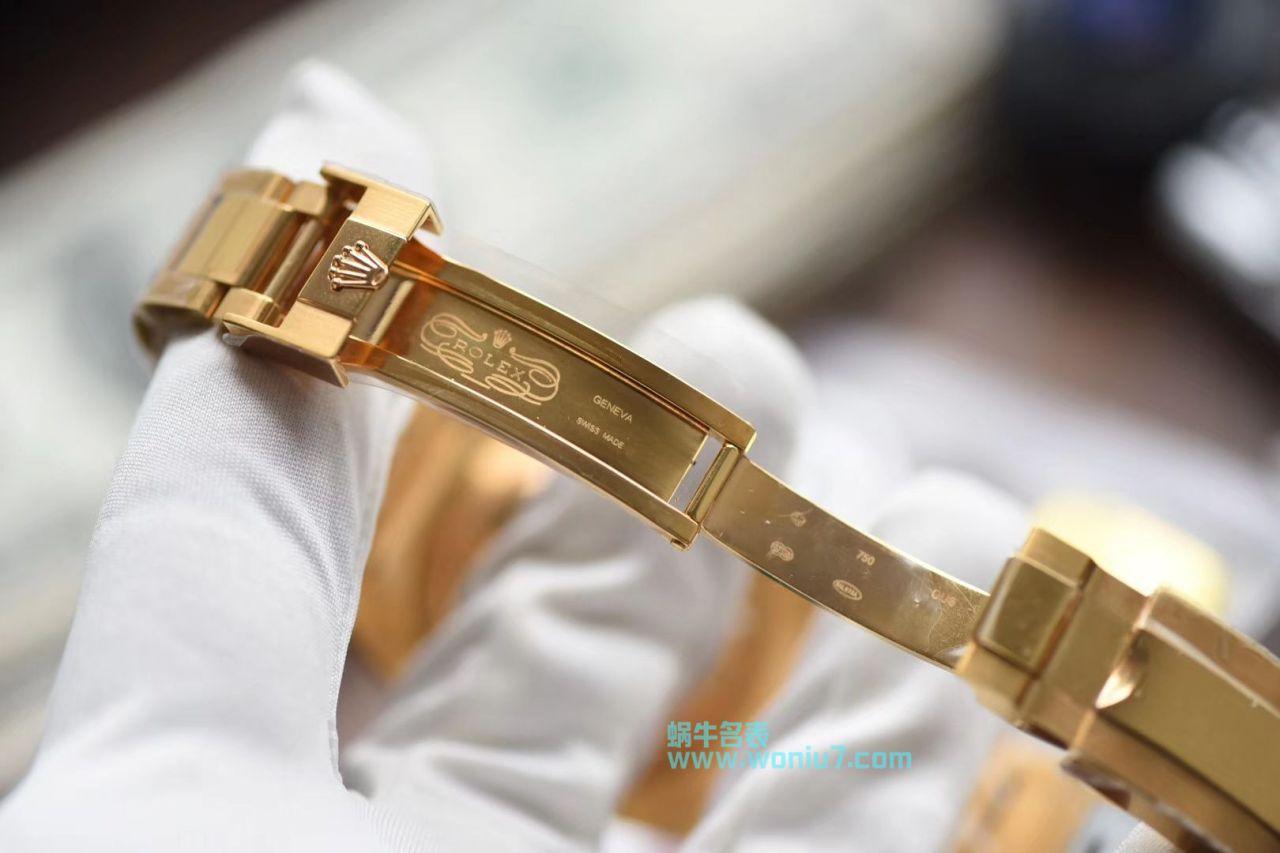 【VR全包真18K黄金款】劳力士潜航者型系列116618LB-97208腕表 / R262