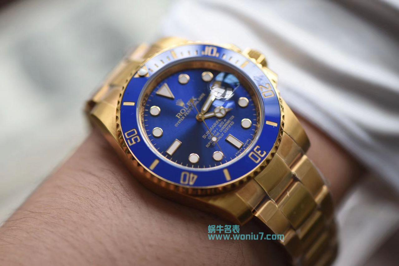 【VR全包真18K黄金款】劳力士潜航者型系列116618LB-97208腕表