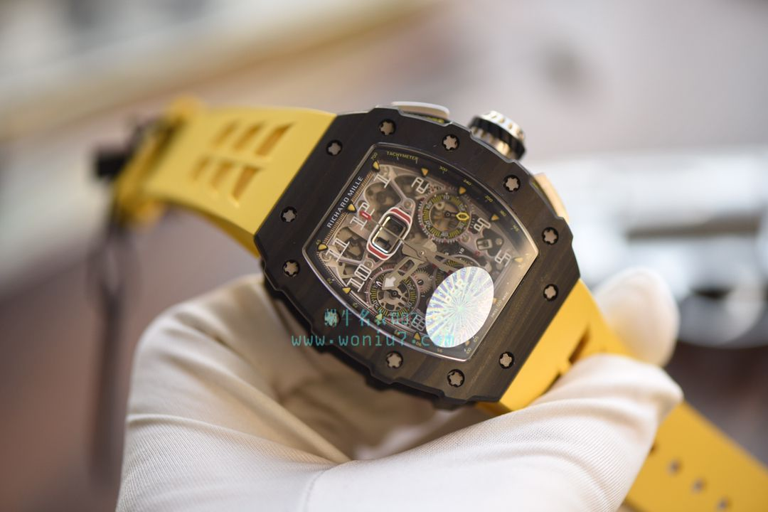 KV台湾厂全新巨作RICHARD MILLE理查德米勒RM011-03NTPT碳纤维腕表