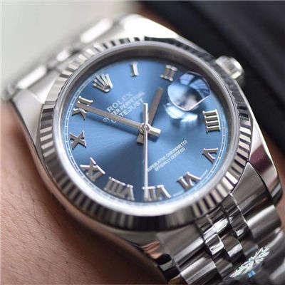 劳力士日志型系列116234-63200蓝罗腕表【AR顶级复刻手表】