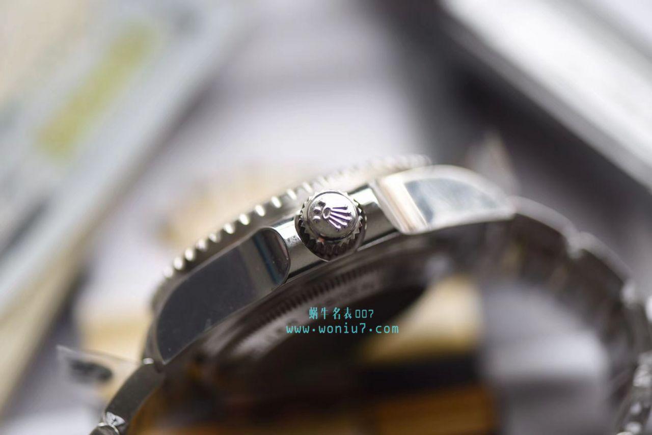 【AR一比一超A高仿手表】劳力士海使型系列116660-98210 蓝盘腕表(904钢渐变蓝鬼王) / R208
